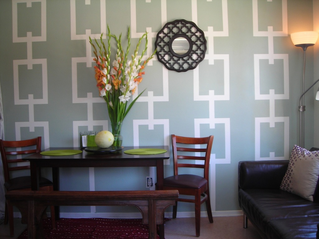 Pinterest dining room wall