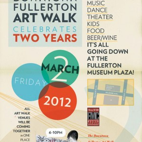 Fullerton Art Walk's 2nd Anniversary
