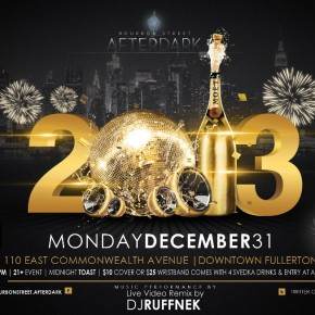 NYE Parties in Downtown Fullerton