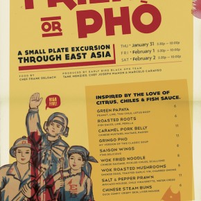 "Early Bird ""Friend or Phò"" Dinner Pop-Up"