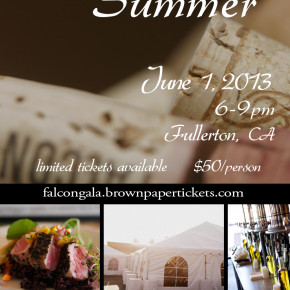 """Wines of Summer"" Pairing Dinner @ St. Juliana's"