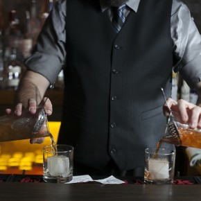 Guest Bartender Ricky Yarnall at The Cellar