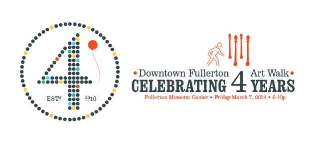 Fullerton Art Walk 4-Year Anniversary Press Release