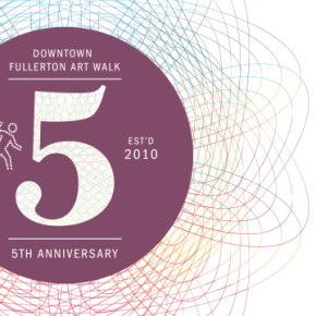 Fullerton Art Walk 5-Year Anniversary Event