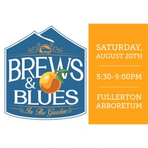 "Fullerton Arboretum's ""Brews & Blues in the Garden"" 8.20.16"