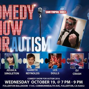 ANDY DICK to Headline Fullerton Cares 'Comedy Show for Autism' - October 19