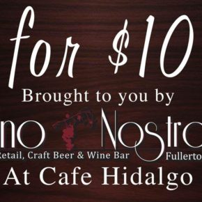 $10 for 10 Wine Event is Back!